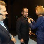 Juan Carlos Escotet, Socio de Honor del Alumni Ieside que preside Manuel Rego